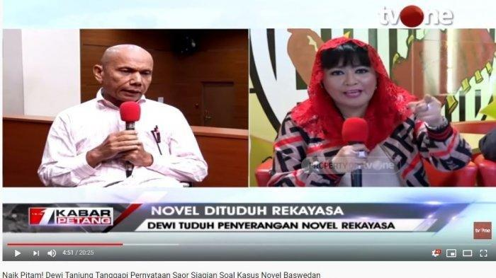 Kuasa Hukum Novel Pertanyakan Motif Laporan Dewi Tanjung: Jangan-jangan Dia di Balik Penyerangan