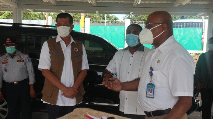 Ketua Satuan Tugas Penanaganan Covid-19 Doni Monardo, Kamis (8/10/2020) siang, meresmikan penggunaan Rumah Sakit Umum Daerah untuk isolasi covid-19 di Biak Numfor, Papua.