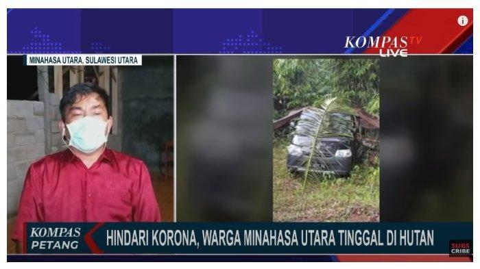 Gara-gara Corona, Satu Keluarga di Minahasa Utara Tinggal di Hutan, Dirikan Tenda di Mobil Pickup