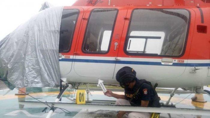 Helikopter Milik PT SGI Ditembak OTK di Mimika Papua, Polisi Duga Pelaku adalah KKB Kalikopi