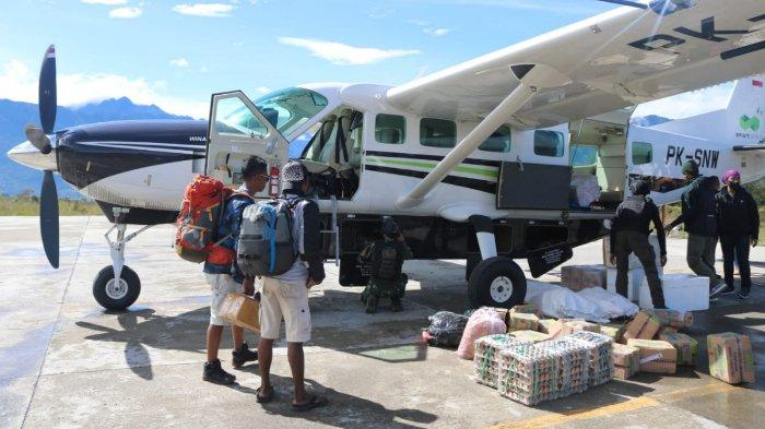 Penerbangan ke Timika, Jayapura, dan Nabire Lancar dan Aman setelah 150 Aparat Dikerahkan untuk Jaga
