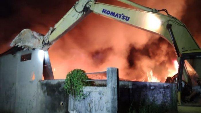 Gudang Kasur di Sorong Papua Barat Ludes Dilalap Api, Karyawan: Tak Ada yang Berhasil Diselamatkan