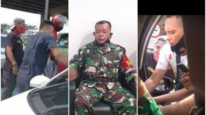 Viral Video Anggota TNI Bantu Warga yang Mobilnya Dikepung 11 Debt Collector, Ini Kata Kapendam Jaya