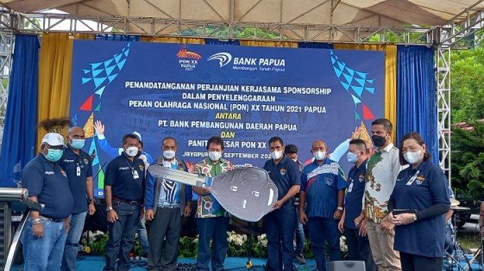 Elia Laupatty  Puji Kontribusi dan Dukungan Bank Papua Untuk PON