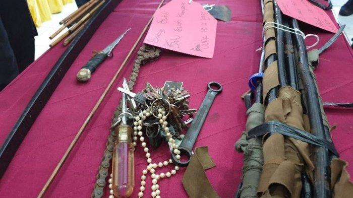 Perusuh saat Demo Jayapura Membawa Ketapel hingga Aneka Senjata Tajam, Ini Jenis-Jenisnya