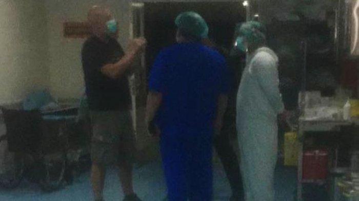 WNA Swiss Ngamuk dan Terobos IGD Covid-19 di Bali, Tendang Monitor Pasien dan Nyaris Pukul Dokter