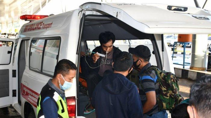 Serda Imanuel Wenatubun Korban Selamat di Posramil Kisor Maybrat Dievakuasi ke RSPAD Gatot Subroto