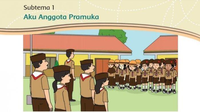 Kunci Jawaban Buku Tematik Kelas 3 SD Tema 8 Halaman 4-8: Praja Muda Karana