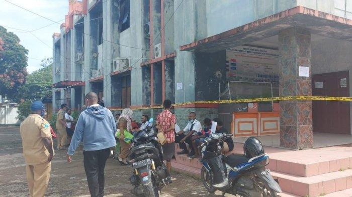 5 Unit Komputer di Disdukcapil Sorong Dicuri, Pelayanan kepada Masyarakat Macet