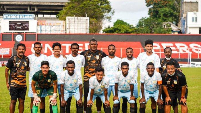Tim Sepakbola PON Papua Menang Telak 9-0 Atas Tim Liga 3 Persibom Bolaang Mongondow