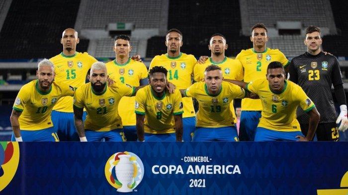 Prediksi Perempat Final Copa America 2021: Brasil Punya Jalan Mulus ke Final