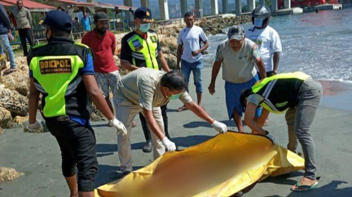 Hendak Bakar Sampah, Warga Temukan Mayat Laki-laki di Pantai Cibery Jayapura