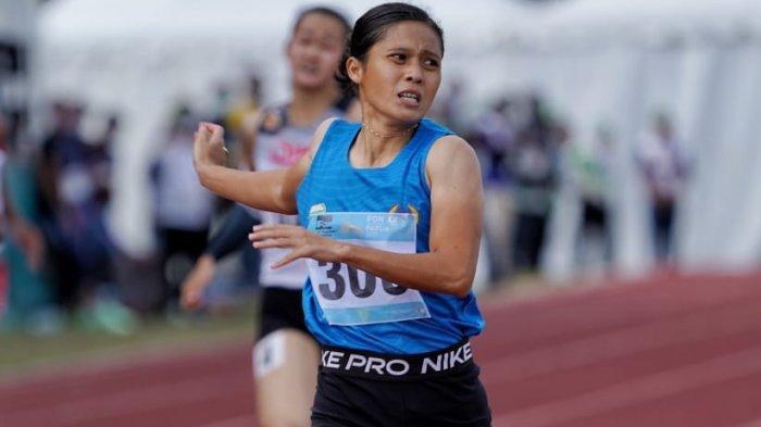 Atlet Lari Asal Sumsel, Sri Mayasari Raih Emas Sekaligus Pecahkan 2 Rekor Lari 400 Meter
