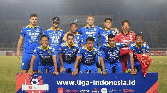 Ini Daftar 20 Pemain Persib Bandung yang Berangkat ke Sidoarjo untuk Lawan Persipura Jayapura