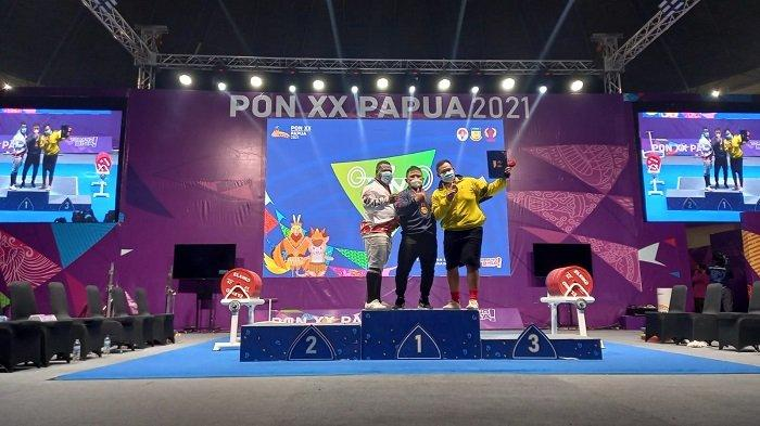 Jawa Barat Sabet 8 Medali Emas di Cabor Angkat Berat PON XX Papua