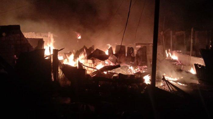 9 Rumah di Abepura Hangus Terbakar, Api Baru Padam setelah Dua Jam, 2 Warga Tewas