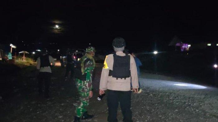 Jaga Kondisi Keamanan di Kabupaten Puncak, Aparat Gabungan TNI-Polri Gelar Patroli