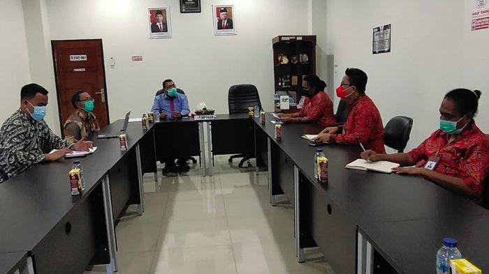 Adakan Pertemuan, KPK dan Ombudsman Papua Bahas Pencegahan Korupsi