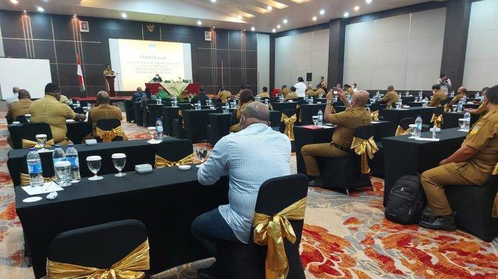 Sekda Harap DPR Papua Bersinergi dengan OPD Bangun Infrastruktur