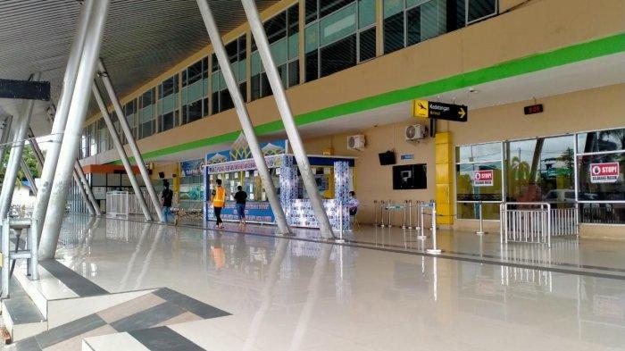 4 Hari Larangan Mudik Lebaran, Bandara Rendani Manokwari Langsung Sepi Pengunjung