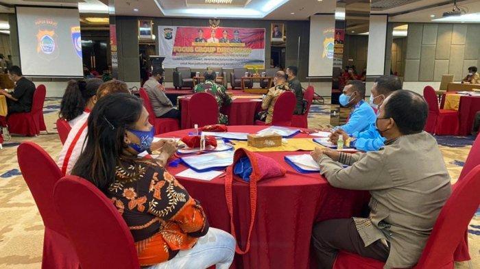 Antisipasi Isu Sara, Polda Gelar FGD dengan Sejumlah Tokoh di Papua Barat