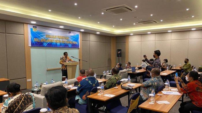 Pemprov Papua Berkomitmen Turunkan Angka Pengangguran Melalui Skill Development Center