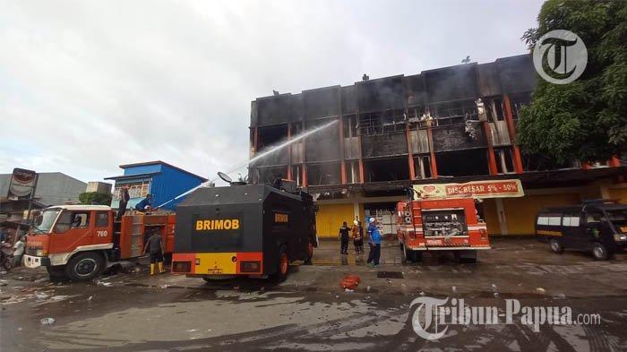 Polisi: Kebakaran Ruko di Jalan Pasar Youtefa Abepura Akibat Korsleting Listrik