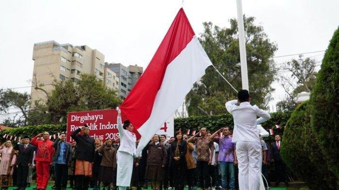 Poco-poco, Cilok, hingga Tarik Tambang Warnai Peringatan HUT Kemerdekaan RI di Peru