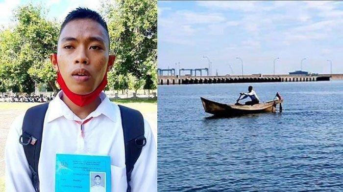 Viral Pemuda Kayuh Perahu Sejauh 17 Km untuk Tes TNI AL, Kini Lolos Jadi Prajurit