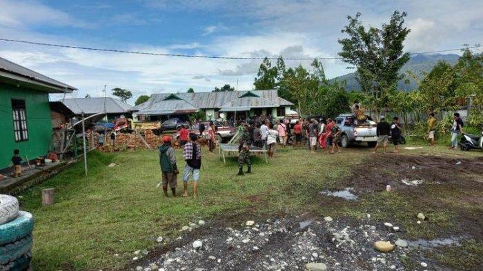 Sebagian Pengungsi Yalimo Papua Masih Bertahan Pascarusuh Pilkada