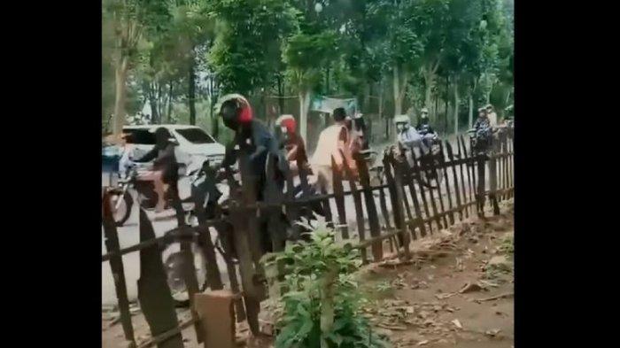 Viral Video Pemuda Tendang Rombongan Pengendara Motor Diduga karena Knalpot Bising, Ini Kata Polisi