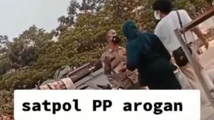 Viral Video Satpol PP Cekcok dengan Pedagang, Kasatpol PP Bogor Jelaskan: Situasinya Dorong-dorongan