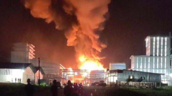 2 Pekerja Tewas dalam Ledakan Tangki Biodiesel, Polisi: Itu Gas Memang Sangat Mudah Terbakar
