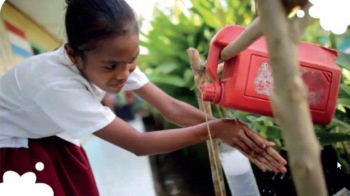 Penyediaan Tempat Pencuci Tangan di Sekolah Tidak Perlu yang High Class
