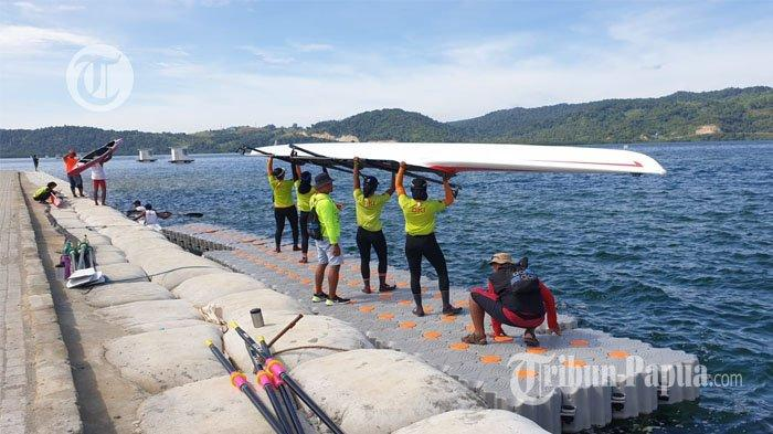 Siap Tempur, Tim Dayung PON DKI Jakarta Target 4 Medali Emas PON XX Papua