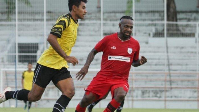 Latihan Bersama, Persipura Jayapura Dikalahkan PSG Pati dengan Skor 0-1