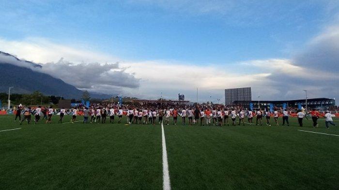 Rugby Papua Raih Medali Setelah Taklukan DKI Jakarta 10 : 7