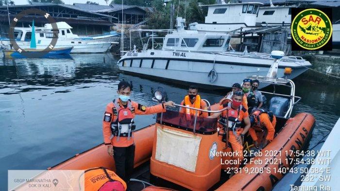 Satu Nelayan Hilang di Laut  Hamadi Jayapura, Tim SAR Masih Lakukan Pencarian