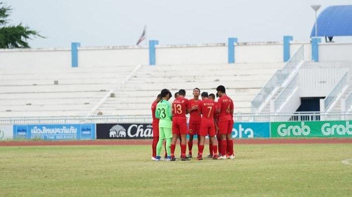 Bima Sakti Minta Timnas U-15 Indonesia Tak Menangis seusai Dikalahkan Thailand