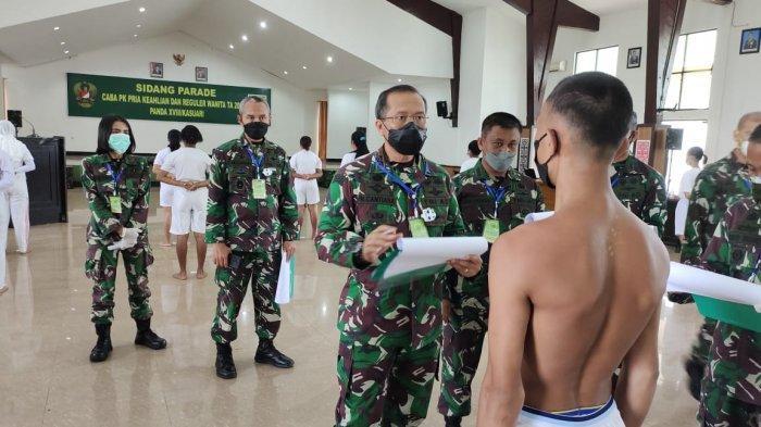 22 Peserta Ikut Sidang Kelulusan Penerimaan Anggota TNI AD di Kodam XVIII/Kasuari