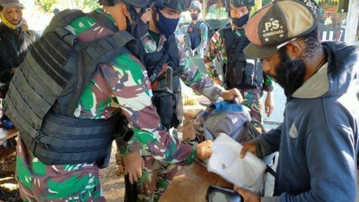 6 Orang Terduga Anggota KKB Diamankan TNI, Ditemukan Kartu Tanda Pengenal OPM