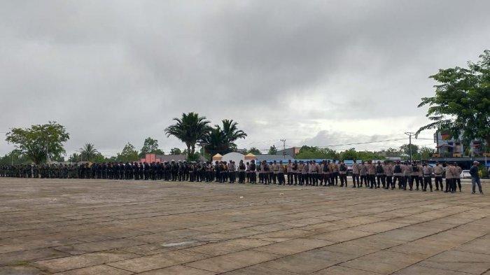 Ratusan Personel TNI-Polri Disiagakan Jelang Putusan MK terkait Sengketa Pilkada Boven Digoel