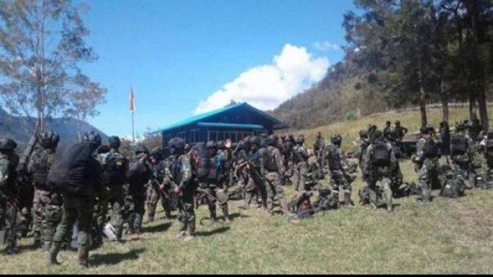 KKB Kocar-kacir Markasnya di Olenski Kampung Maki Diserbu TNI-Polri, 5 Anggotanya Tewas Tertembak