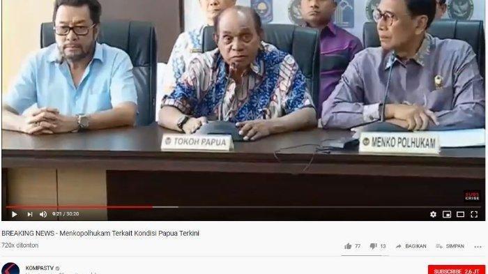 Tokoh Senior Papua: Bendera Bintang Kejora Bukan Bendera Negara