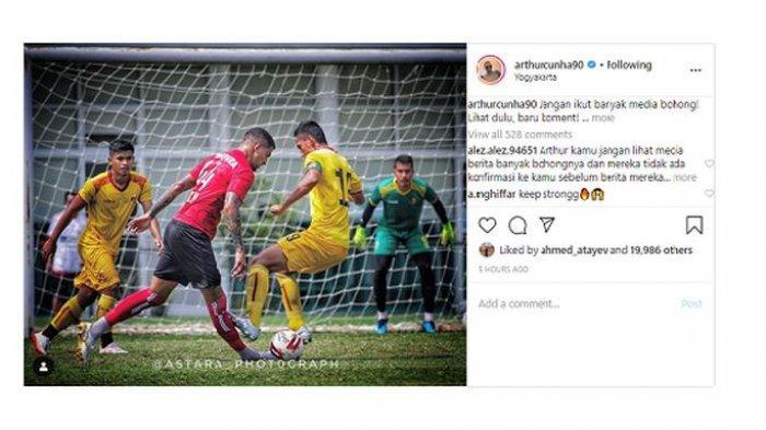 Baku Hantam dengan Sriwijaya FC saat Laga Uji Coba, Bek Persipura Unggah Foto: Lihat, Baru Komentar