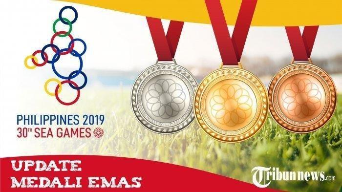 Update Terbaru Perolehan Medali SEA Games 2019: Indonesia Merangsek Naik ke Peringkat 2