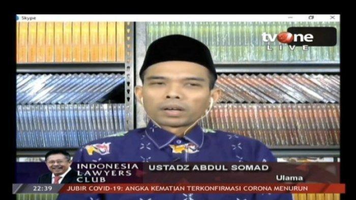 Kata Ustaz Abdul Somad soal Jamaah Nekat ke Masjid saat Wabah Corona: Mereka Sulit, Dibantu Masjid