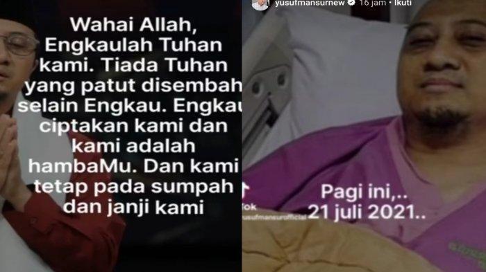 Ustaz Yusuf Mansur Masuk RS, Hemoglobin Rendah