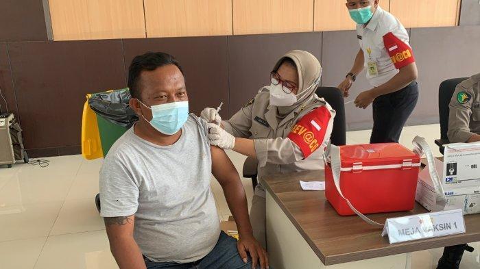 Peringati HUT Lalu Lintas Bhayangkara, Ditlantas Polda Papua Gelar Vaksinasi Presisi