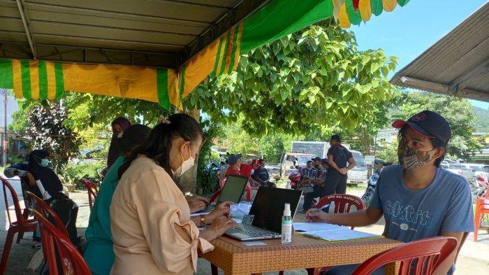 Menyambut PON XX 2021, Puskesmasn Waena Terget 15 Ribu Warga di Vaksinasi
